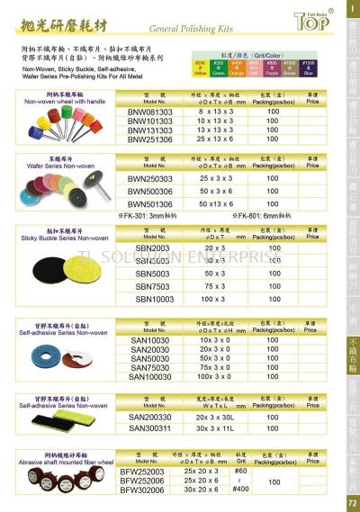 General Polishing Kits