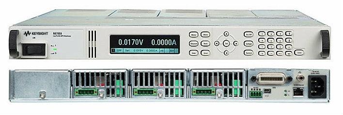 N6702A Low-Profile Modular Power System Mainframe, 1200W, 4 Slots  DC Power Supply   Keysight Technologies