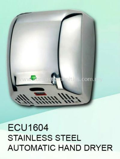 ECU1604 - SS Automatic Hand Dryer