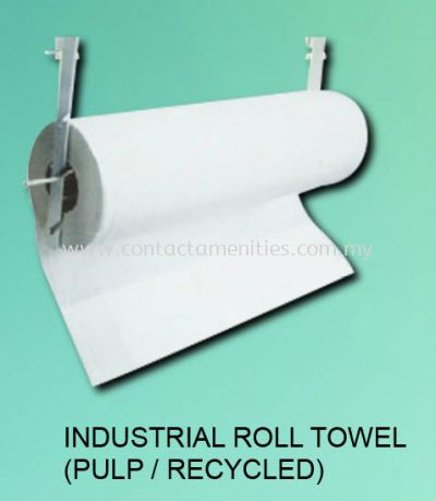 Industrial Roll Towel (Pulp/Recycled)