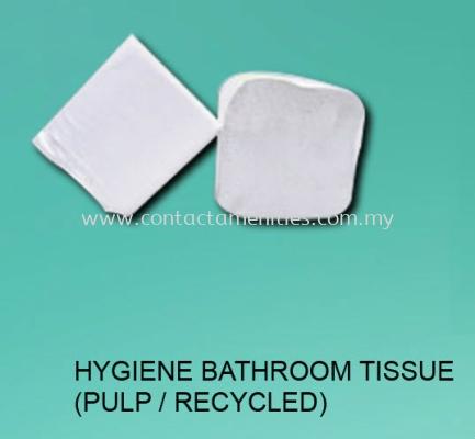 Hygiene Bathroom Tissue (Pulp/Recycled)