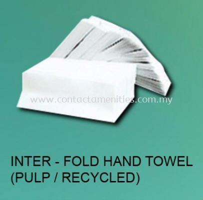 Inter-Fold Hand Towel (Pulp/Recycled)