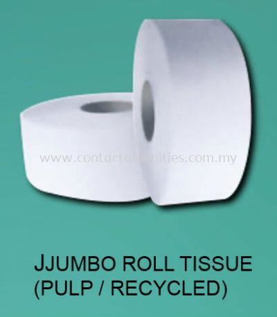 Jumbo Roll Tissue (Pulp/Recycled)