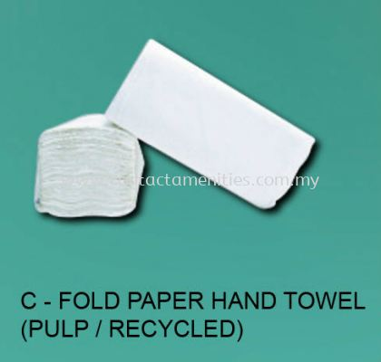 C-Fold Paper Hand Towel (Pulp/Recycled)
