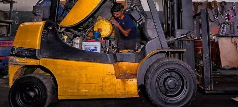 Forklift Services Johor Bahru  - Out Door And Site