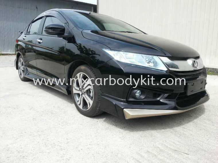 HONDA CITY 2014 MUGEN BODY KIT + SPOILER  CITY 2014 HONDA