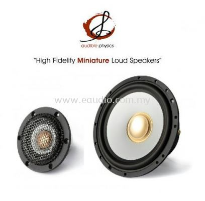 """Audible Physics RAM 2.6A -6"""" Mid Bass With 2.5"""" Full Range Component"""