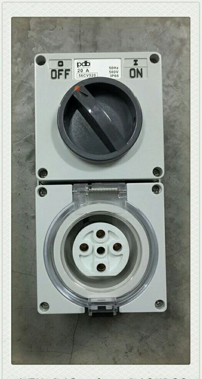 56Series 56CV520 20A 5Pin Socket