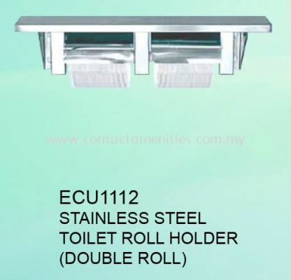ECU1112 - SS Toilet Roll Holder (Double Roll)