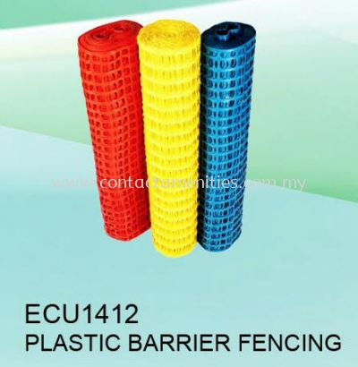 ECU1412 - Plastic Barrier Fencing