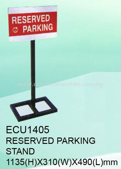 ECU1405 - Reserved Parking Stand