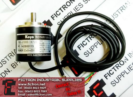 TRD-J1000-1472D KOYO ROTARY Encoder Supply Malaysia Singapore Thailand Indonesia Philippines Vietnam Europe & USA