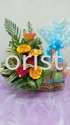 FFB02 - from RM80.00 Floral Fruit Basket