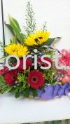 FFB18 - from RM120.00 Floral Fruit Basket
