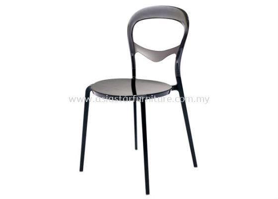 AS HH 603 PC CHAIR WITH ALUMINIUM LEG