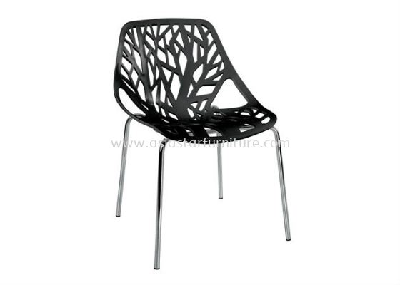 AS HH 451 PP CHAIR WITH CHROME LEG