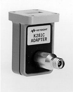 K281C Coaxial Waveguide Adapter, 3.5 mm (f), 18 to 26.5 GHz