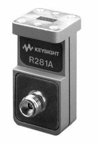 R281A Coaxial Waveguide Adapter, 2.4 mm (f), 26.5 to 40 GHz