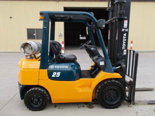 Toyota LPG Forklift 7FG25
