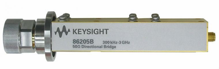 86205B RF Bridge, 50 Ohm, 300 kHz to 3 GHz  RF and Microwave Test Accessories  Keysight Technologies