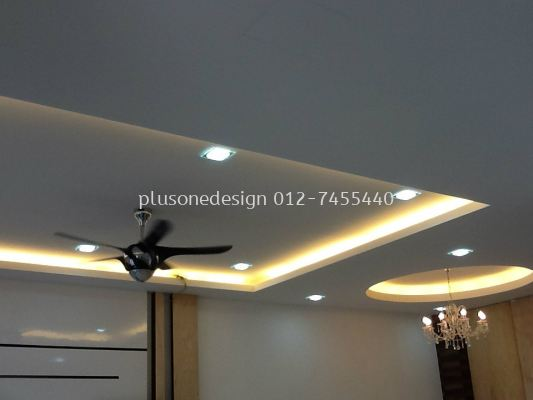False Ceiling Design Living and Dining