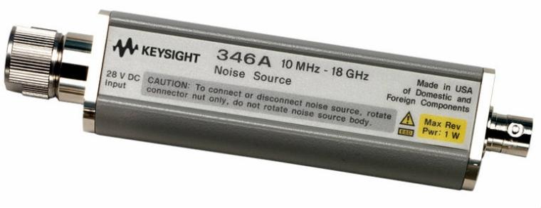 346A Noise Source, 10 MHz to 18 GHz, nominal ENR 6 dB  Noise Sources  Keysight Technologies