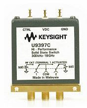 U9397C FET Solid State Switch, 300 kHz to 18 GHz, SPDT  RF and Microwave Test Accessories  Keysight Technologies