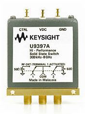 U9397A FET Solid State Switch, 300 kHz to 8 GHz, SPDT
