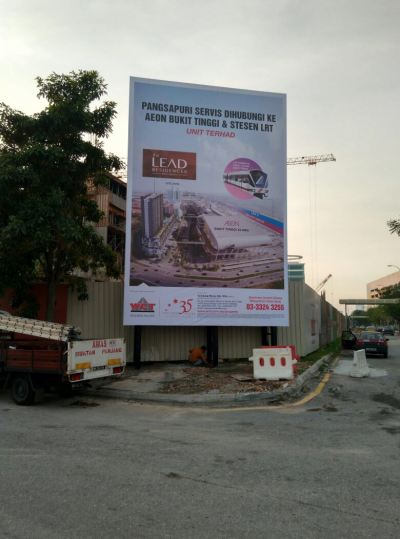 WCT The Lead Billboard Bukit Tinggi Klang