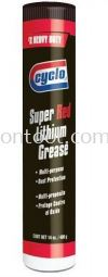 #2 RED LITHIUM GREASE (CGR11) Grease CYCLO Chemical Products