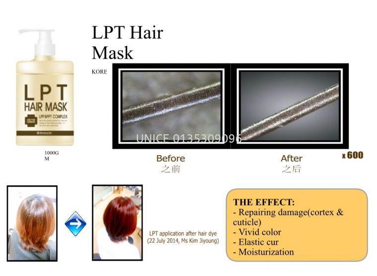 Benezyme Lpt Hair Mask 1000g