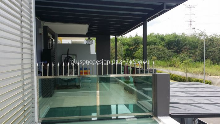 Balcony Glass Fencing