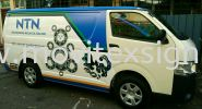 van adv Jb /new design new image to deliver your message to the  public Van Vehicle Advertising