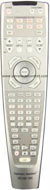 HS300/500 HARMAN KARDON HOME THEATER REMOTE CONTROL HARMAN KARDON HOME THEATER REMOTE CONTROL