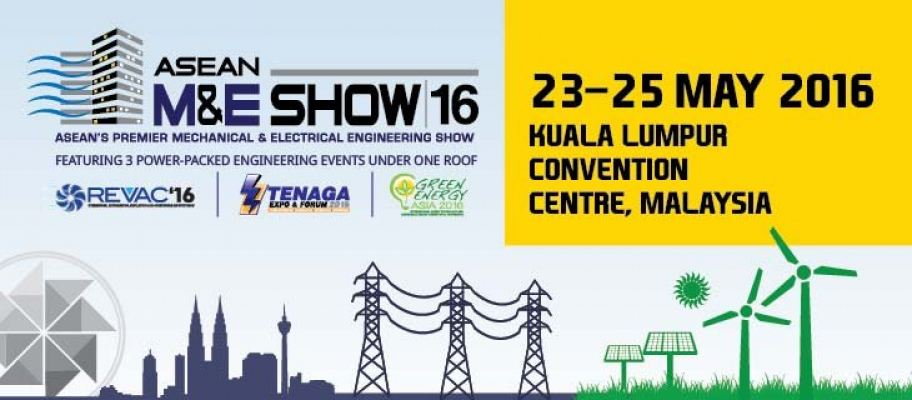 Asean Mechanical and Electrical Engineering Show 2016