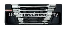 Double End Swivel-Socket Wrench Set  Master Tool Sets TOPTUL Hand Tool