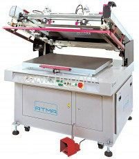 Clam-Shell Screen Printer (ATMECH 57/ATMACH 57/B)