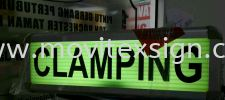Aluminium flame light box are suitable for indoor shopping center (click for more detail) Signboard / Lighting Signboard