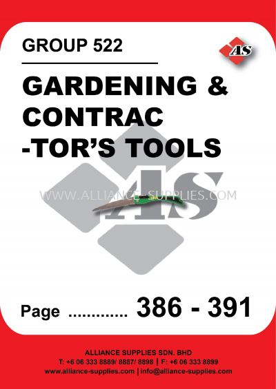 522-Kennedy Gardening and Contractor's Tools