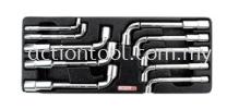 Angled Socket Wrench Set Master Tool Sets TOPTUL Hand Tool