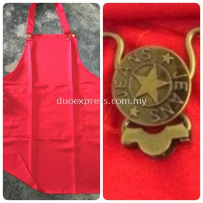 Apron With Buckle & Hook