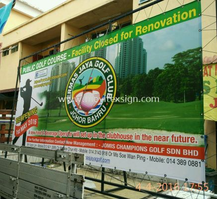 golf sign information board best for tournament advertising & sposership Board