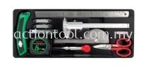Measuring, Marking & Cutting Tool Set Master Tool Sets TOPTUL Hand Tool