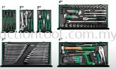 Professional Mechanical Tool Set W/6-Drawer Tool Chest (120pcs) Master Tool Sets TOPTUL Hand Tool