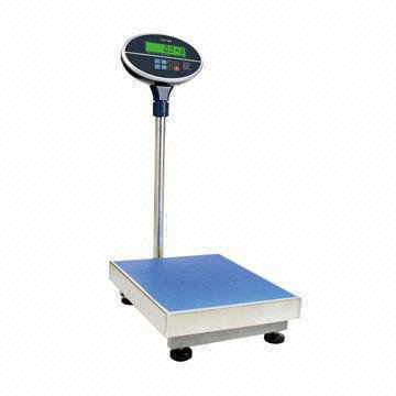 ELECTRONIC WEIGHING PLATFORM BENCH SCALE 60 KG / 150 KG / 300 KG