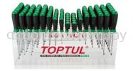 Standard & Heavy Duty Screwdriver Shelf Set Master Tool Sets TOPTUL Hand Tool