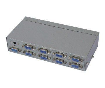 4-IN, 4-OUT VGA SWITCHER & SPLITTER