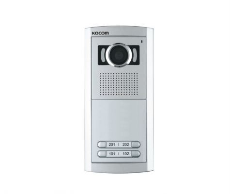 KLP-104/C104.Kocom Black & White & Color Multiple Video Doorphone 4 Houses
