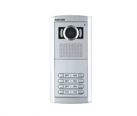 KLP-108/C108.Kocom Black & White & Color Multiple Video Doorphone 8 Houses