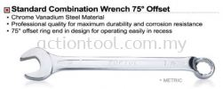 Standard Combination Wrench 75 Offset Wrenches and Torque Wrenches TOPTUL Hand Tool
